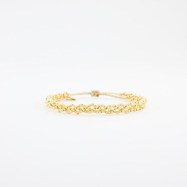 Luna Plait Gelbgold vergoldet