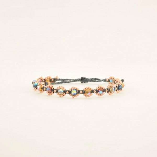 Bloom Chrystal Kombi 4 Armband